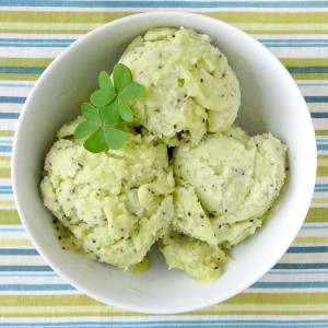 Ginger and Kiwi Ice Cream