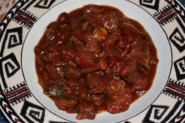 Barbecued Beef Stew
