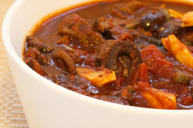 Beef Stew with Olives