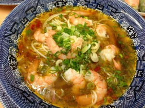 Beef and Prawn Soup