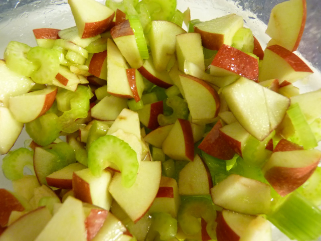 Celery and Apple