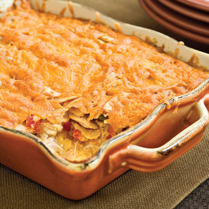 Chicken and thick Tomato sauce Casserole