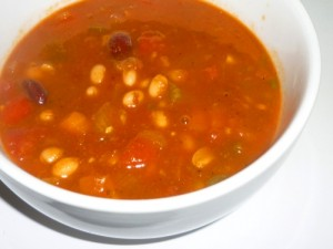 Chilli Bean Soup Recipe