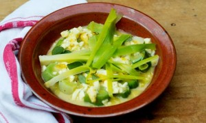 Cold Leek Salad