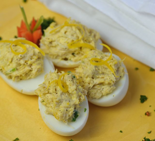 Eggs with Tuna Fish