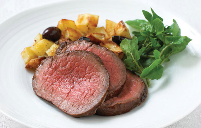 Fillet of Beef with Olives