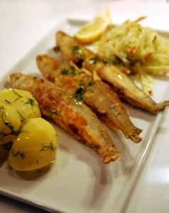 Fried Sprats and Smelts
