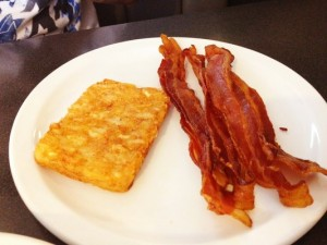 Hash Browns with Bacon