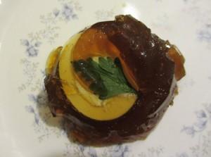 Jellied Egg salad Gourmet