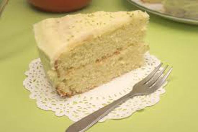Lime cream cake