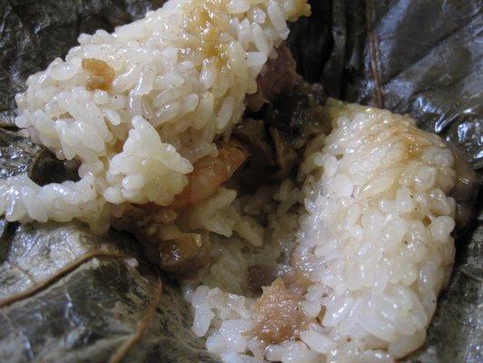 Lotus-Wrapped Rice