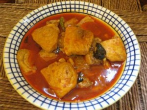 Oriental Fish Curry
