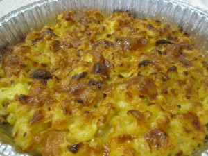 Macaroni and Oysters Casserole