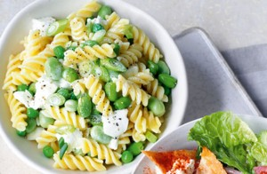 Pasta Salad with Broad Beans