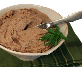 Pate of chicken liver