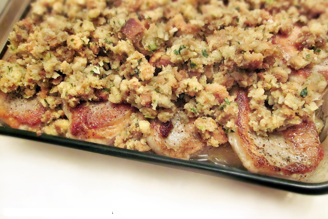 Pork Chops and Apple Casserole