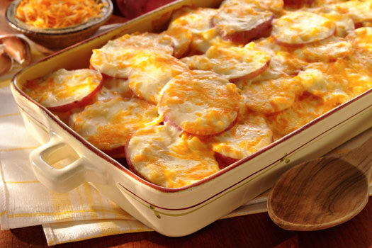 Potatoes with Cheese
