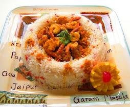 Prawns in Curry Sauce