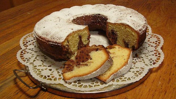 Spice Marble Cake