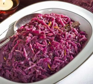 Spiced Red Cabbage with Juniper