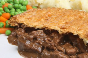 Steak and Wine Pie