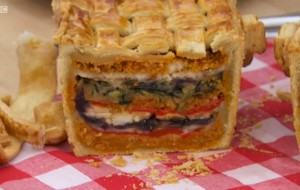 Vegetarian Picnic Pie