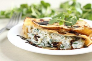 Watercress and Ricotta Cheese