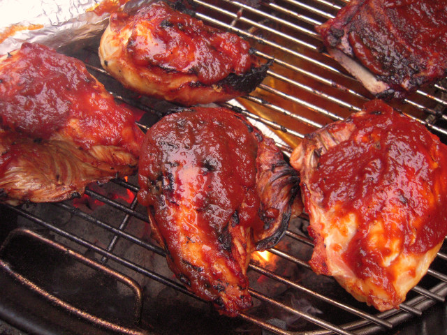 Barbecued Broilers