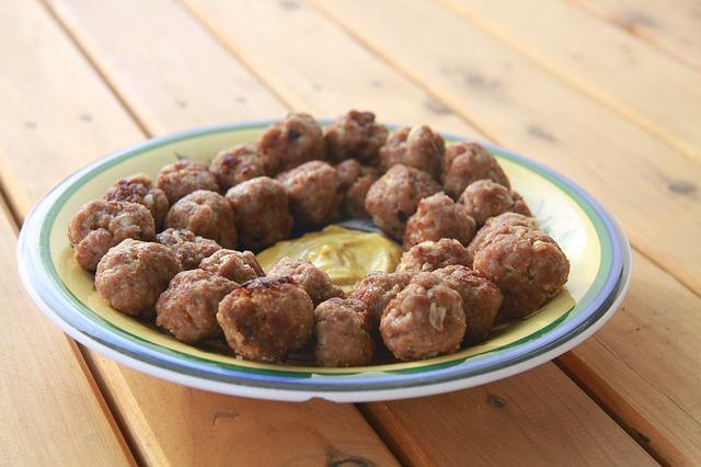 Savory Meat Balls