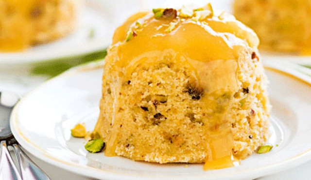 Steamed Fruit Sponge