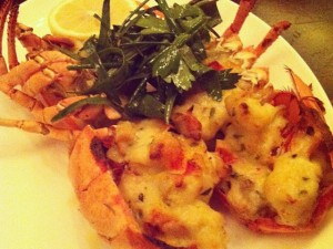 Baked Lobster Savannah