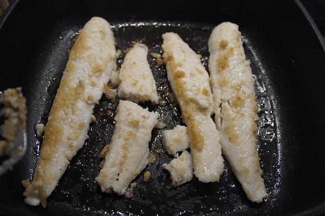 Batter-fried fish