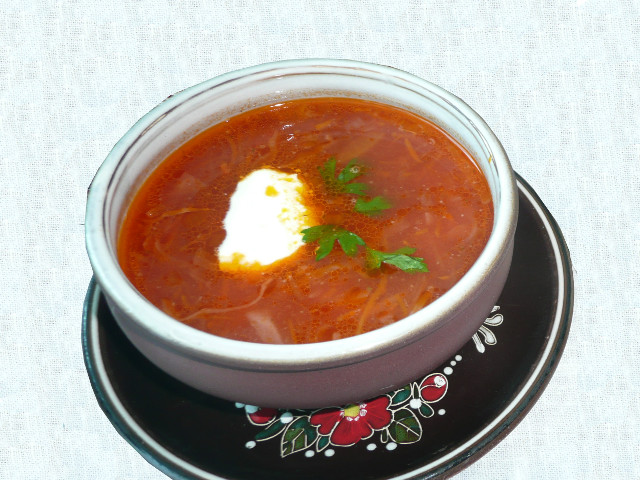 Ukrainian Borsch Recipe
