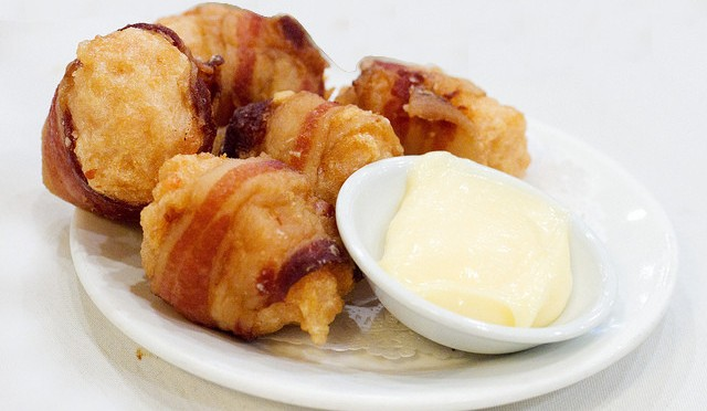 Microwave Bacon Wrapped Shrimp
