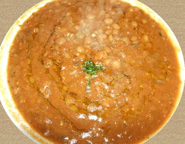 Microwave Lentil Soup